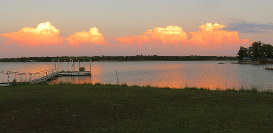 Thunderheads Over Shawnee Lake