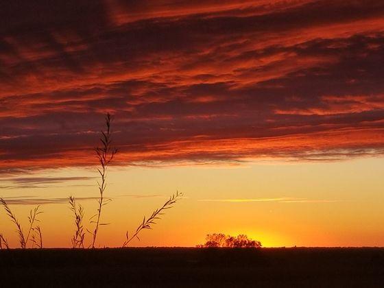 Nehawka, Ne Sunset 10/10/17