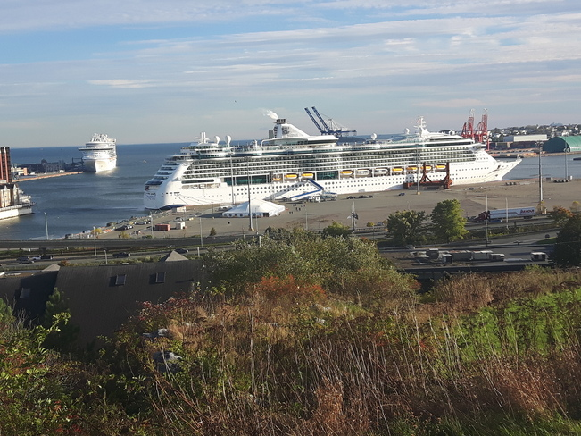 Photos The Weather Network - Cruise ships saint john nb