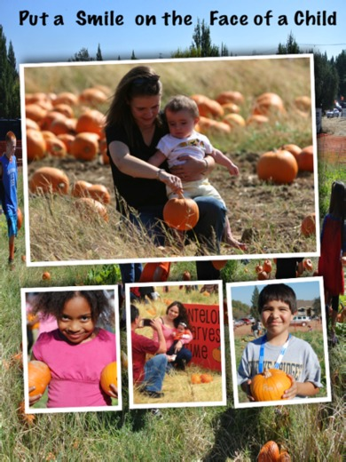 6,000 FREE pumpkins for needy kids!