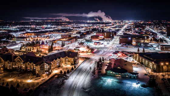 3c. A cold winter's night