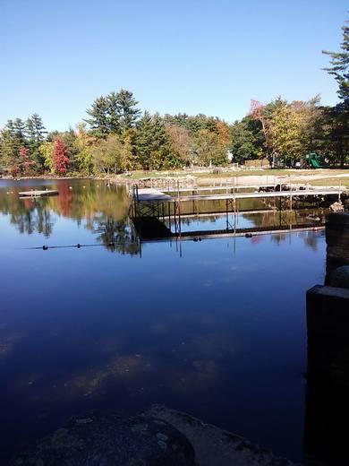Highland Lake park Bridgton