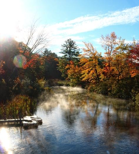 Fall Morning on Little Squam Lake