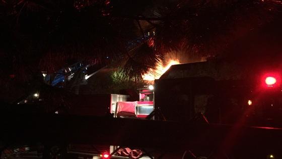 Fire on Bass St, Newmarket NH