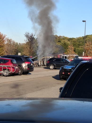 Fire at Pittsburgh Mills