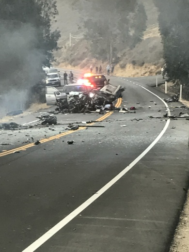 Bossy 1 crash near polocolrado canyon