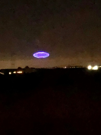 Mystery lights over Sacramento