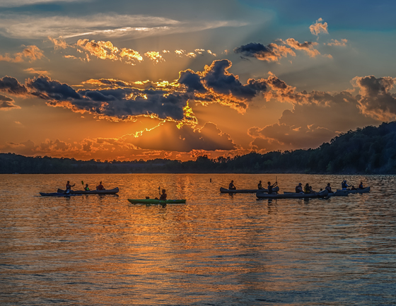 Sunset Kayak and Canoe Adventure