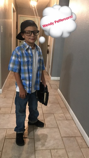 HALLOWEEN Lane Hix as Squints from the Sandlot