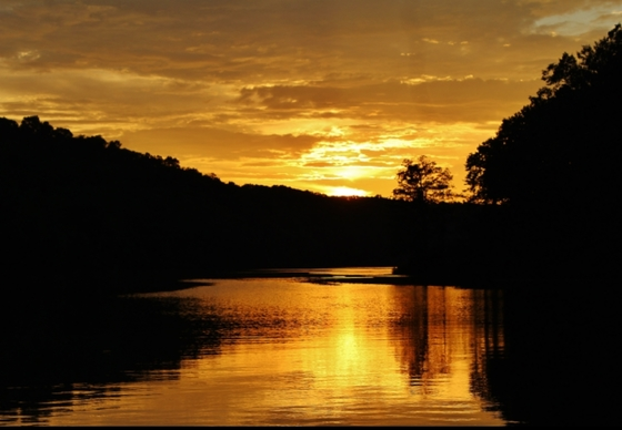Sunset at Burr Oak