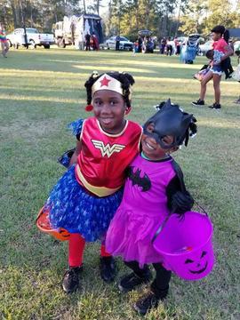 Smiling Super Heroes