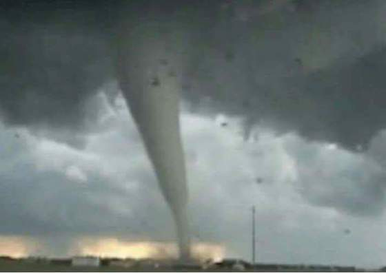 Tornado near MDI in Granite Falls