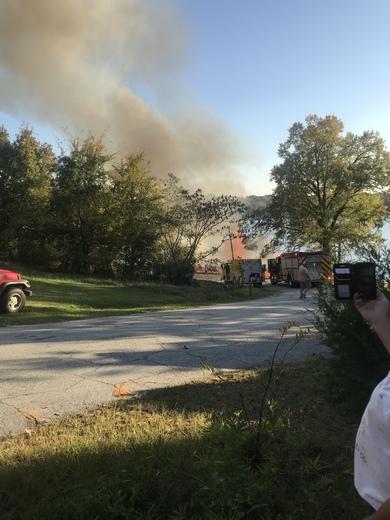 House fire in Waterloo
