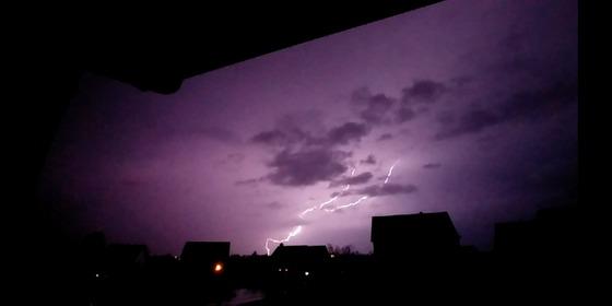 Lightning in Buckner
