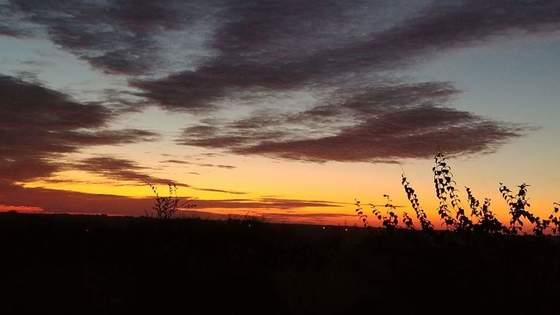 Can't beat fall sunrises in Glenwood!