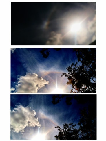 Sundog and Sun Ring Halo Palm Bay, FL, United States