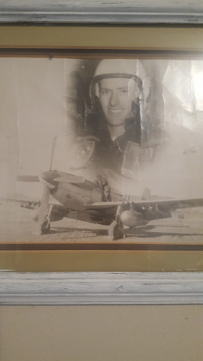 My dad, Ralph Harter.  My hero