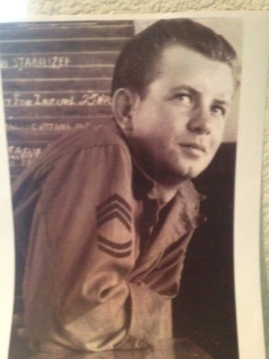 Johnny Lee Huff WWII Iwo Jima