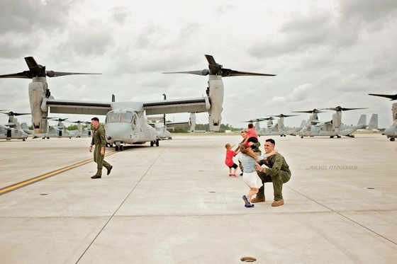 Welcome Home Ryan Fullmer, Captain, USMC.