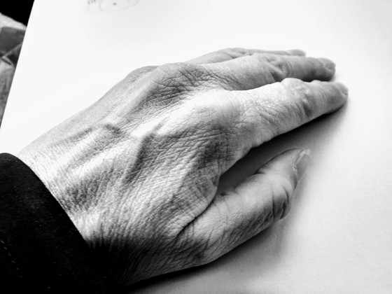 Hand in Black and White