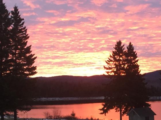 First Lake Sunrise