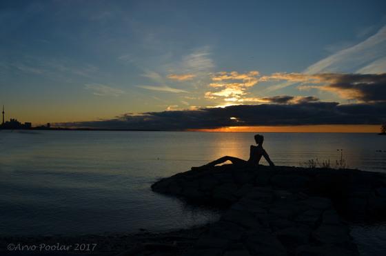 EL Corazon at sunrise
