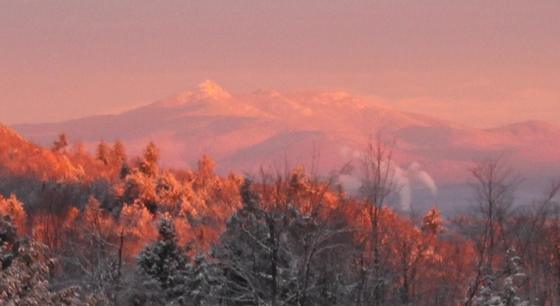 Mount Chocorua at sunrise