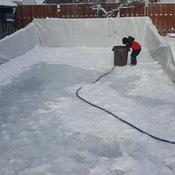 making ice