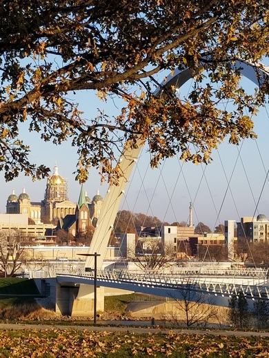 Fall in Des Moines