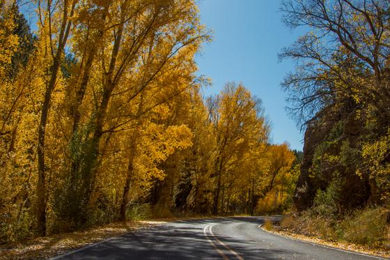 Fall in Santa Fe