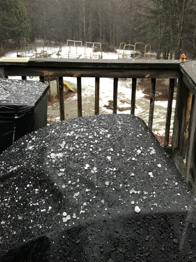Hail squall