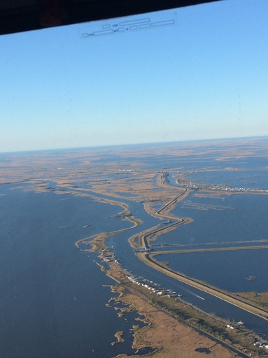 Beautiful day after fog cleared up flying back into Houma
