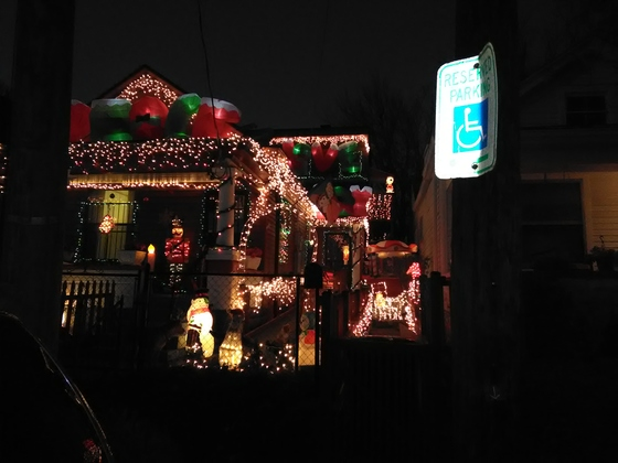 The lights burn bright on Shelby Parkway for the kids of all ages.
