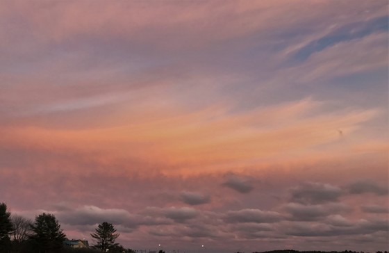 Eastern Skyline Sunset