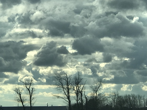 Eerie clouds in Stratham