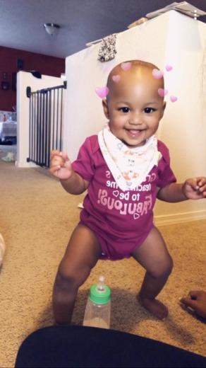 Aniyah Joyce - First Birthday December 3rd.