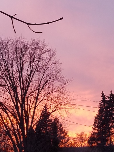 Beautiful sunset in Waupun tonight!!