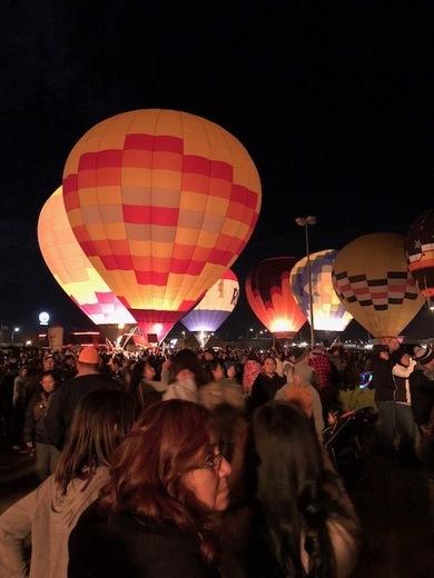 gallup balloon rally