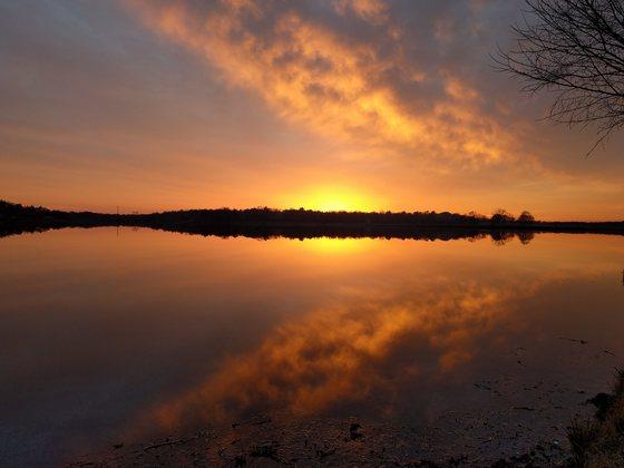 Sunset on 12/2/2017