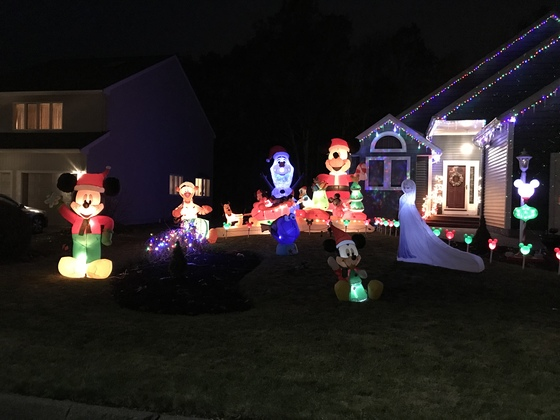 2017 Light Display Dedicated to the Disney Imagineers