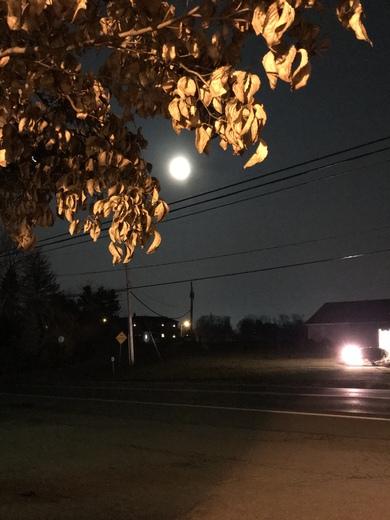 Moon at Stevens Pa