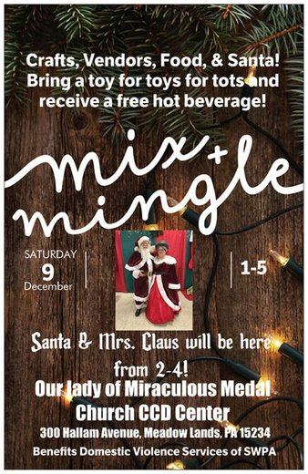 Mix and Mingle with Santa