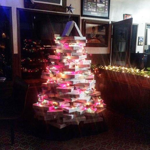 Plaza Pizza Christmas Tree
