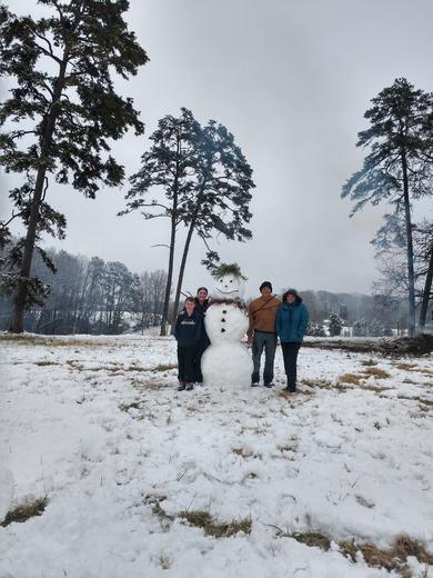 Clinard Country Snowman