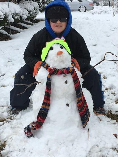Shaden's snowman