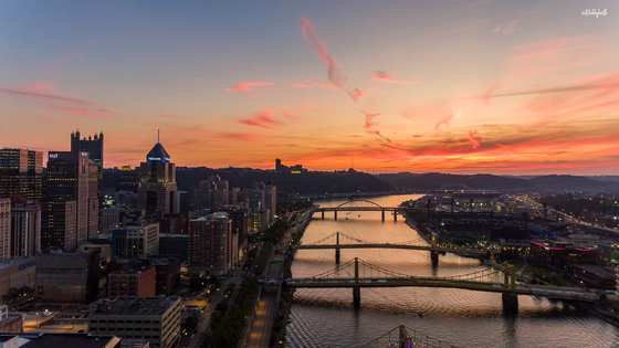 Pittsburgh Sunsets