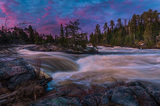 Twilight Falls
