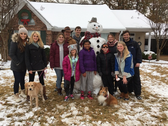 6.5ft Neighborhood snowman