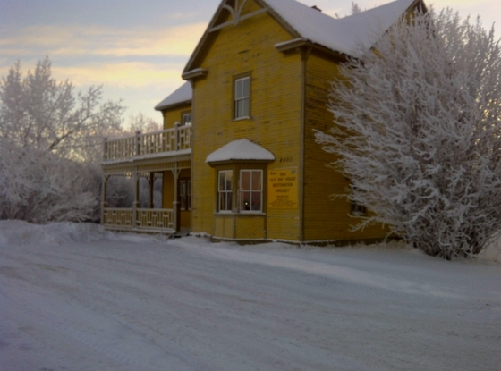 Old Bay House Fort Vermilion Alberta