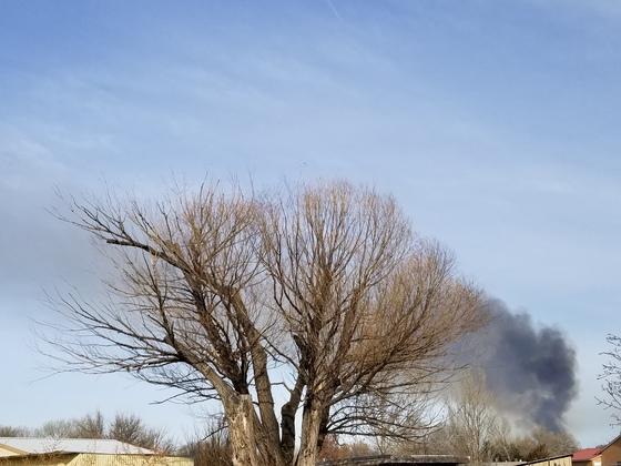 Bosque Fire?
